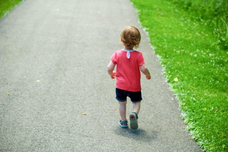 Hannah running